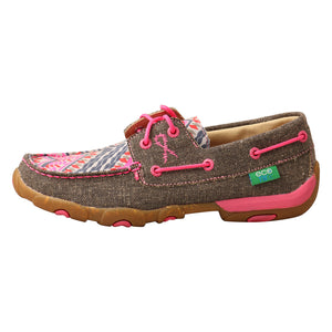 Picture of front of Women's Twisted X Driving Moc WDM0132