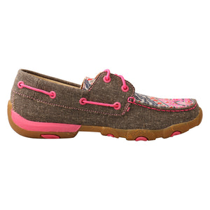 Picture of heel of Women's Twisted X Driving Moc WDM0132