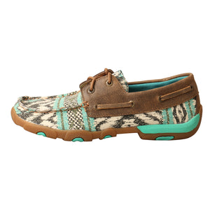 Picture of front of Women's Twisted X Driving Moc WDM0133