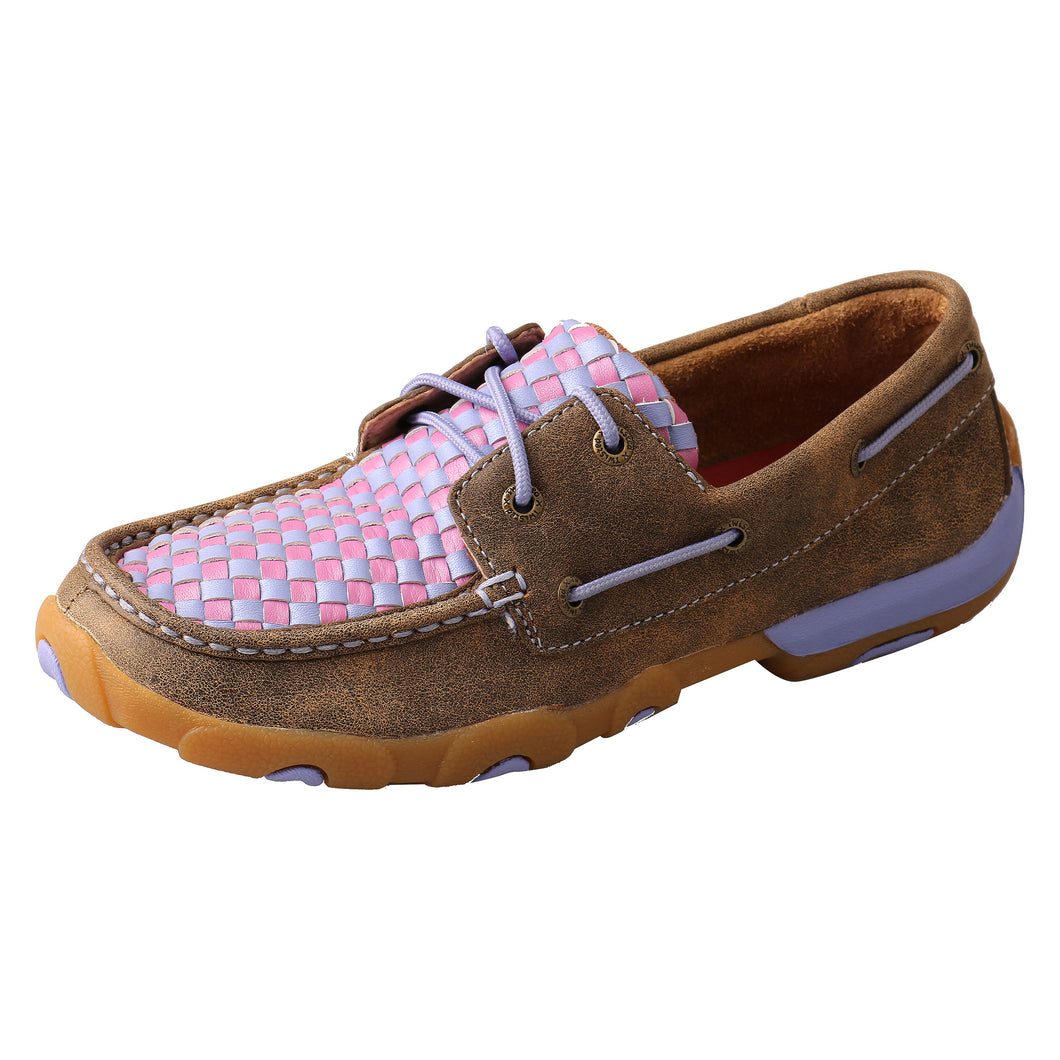Picture of front outside of Women's Twisted X Driving Moc WDM0134