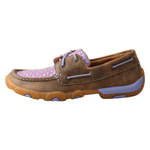 Picture of front of Women's Twisted X Driving Moc WDM0134