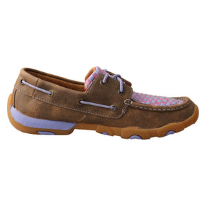 Picture of heel of Women's Twisted X Driving Moc WDM0134
