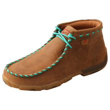 Load image into Gallery viewer, Picture of front outside of Women's Twisted X Driving Moc WDM0137