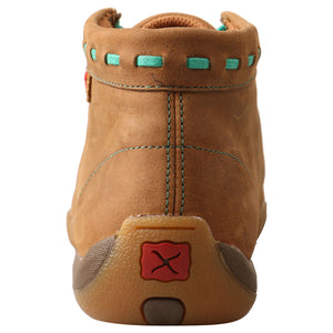 Picture of inside of Women's Twisted X Driving Moc WDM0137