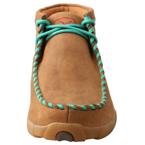 Picture of outside of Women's Twisted X Driving Moc WDM0137