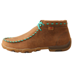Picture of front of Women's Twisted X Driving Moc WDM0137