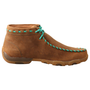 Picture of heel of Women's Twisted X Driving Moc WDM0137