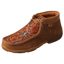 Load image into Gallery viewer, Picture of front outside of Women's Twisted X Driving Moc WDM0138