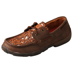 Picture of front outside of Women's Twisted X Driving Moc WDM0139