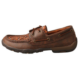 Picture of front of Women's Twisted X Driving Moc WDM0139