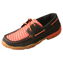 Load image into Gallery viewer, Picture of front outside of Women's Twisted X Boat Shoe Driving Moc WDM0141