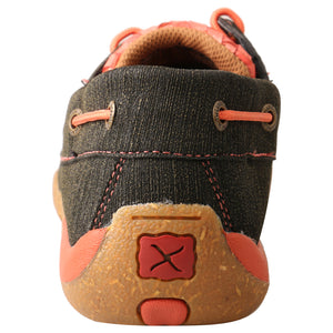 Picture of inside of Women's Twisted X Boat Shoe Driving Moc WDM0141
