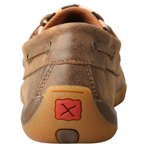 Picture of inside of Women's Twisted X Boat Shoe Driving Moc WDM0142