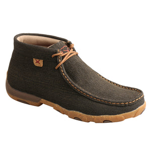 Picture of front inside of Women's Twisted X Chukka Driving Moc WDM0144