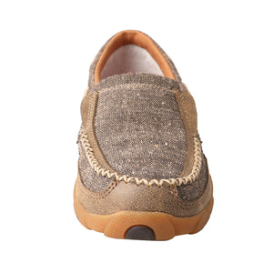 Picture of outside of Women's Twisted X ecoTWX Slip-On Driving Moc WDMS009