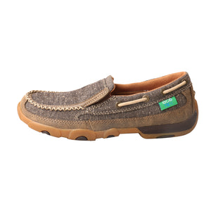Picture of front of Women's Twisted X ecoTWX Slip-On Driving Moc WDMS009