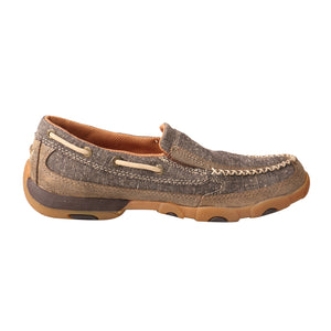 Picture of heel of Women's Twisted X ecoTWX Slip-On Driving Moc WDMS009