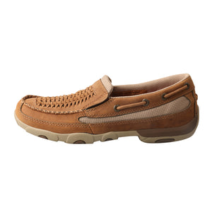 Picture of front of Women's Twisted X Slip-On Driving Moc WDMS010