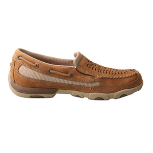 Picture of heel of Women's Twisted X Slip-On Driving Moc WDMS010
