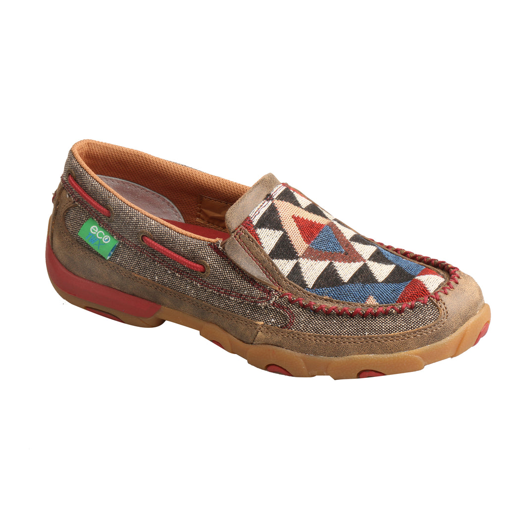 Picture of front outside of Women's Twisted X Slip-On Driving Moc WDMS011