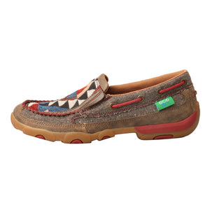 Picture of front of Women's Twisted X Slip-On Driving Moc WDMS011