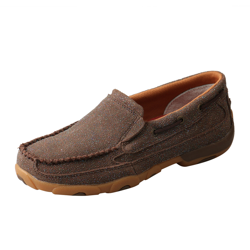 Picture of front outside of Women's Twisted X Slip-On Driving Moc WDMS016