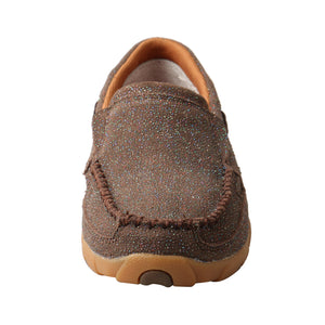 Picture of outside of Women's Twisted X Slip-On Driving Moc WDMS016