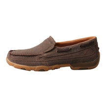 Load image into Gallery viewer, Picture of front of Women's Twisted X Slip-On Driving Moc WDMS016