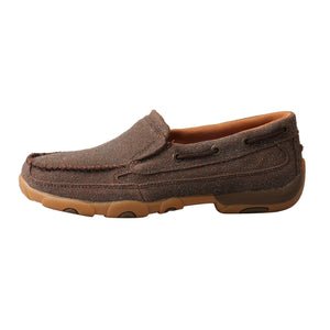 Picture of front of Women's Twisted X Slip-On Driving Moc WDMS016
