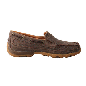 Picture of heel of Women's Twisted X Slip-On Driving Moc WDMS016