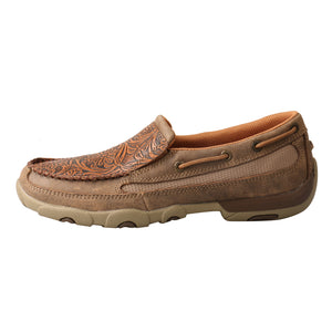 Picture of front of Women's Twisted X Slip-On Driving Moc WDMS018