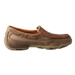 Picture of heel of Women's Twisted X Slip-On Driving Moc WDMS018