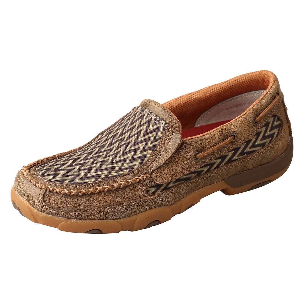 Picture of front outside of Women's Twisted X Slip On Driving Moc WDMS020