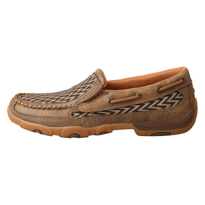 Picture of front of Women's Twisted X Slip On Driving Moc WDMS020