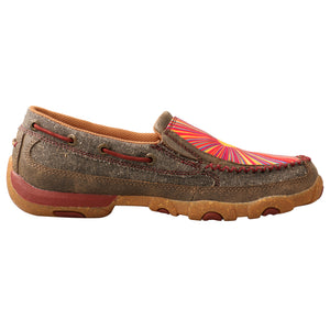 Picture of heel of Women's Twisted X ecoTWX Slip-On Driving Moc WDMS021
