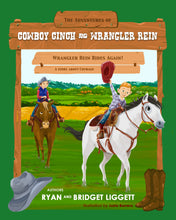 Load image into Gallery viewer, Wrangler Rein Rides Again | Paperback Edition