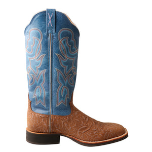 Picture of heel of Women's Twisted X Ruff Stock Boot WRS0030