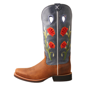 Picture of front of Women's Twisted X Ruff Stock Boot WRS0031