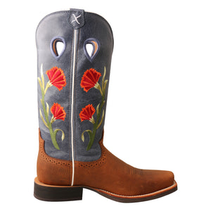 Picture of heel of Women's Twisted X Ruff Stock Boot WRS0031
