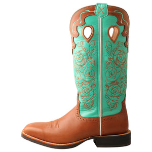 Picture of front of Women's Twisted X Ruff Stock Boot WRS0032