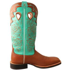 Picture of heel of Women's Twisted X Ruff Stock Boot WRS0032