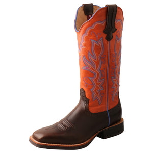 "Picture of front outside of Women's Twisted X 13"" Ruff Stock Boot WRS0033"