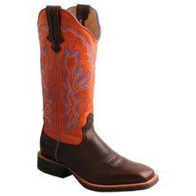 "Load image into Gallery viewer, Picture of front inside of Women's Twisted X 13"" Ruff Stock Boot WRS0033"
