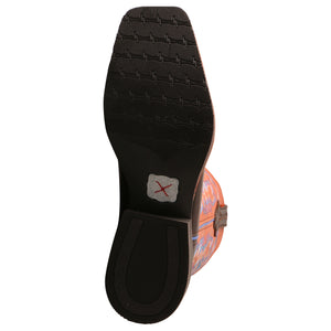 "Picture of sole of Women's Twisted X 13"" Ruff Stock Boot WRS0033"