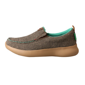 Picture of front of Women's Twisted X Slip-On EVA12R WRV0001