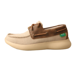 Picture of front of Women's Twisted X Boat Shoe EVA12R WRV0002