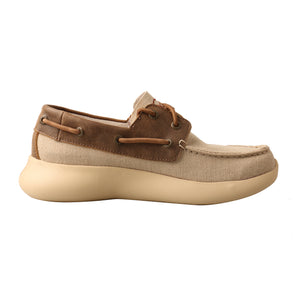 Picture of heel of Women's Twisted X Boat Shoe EVA12R WRV0002