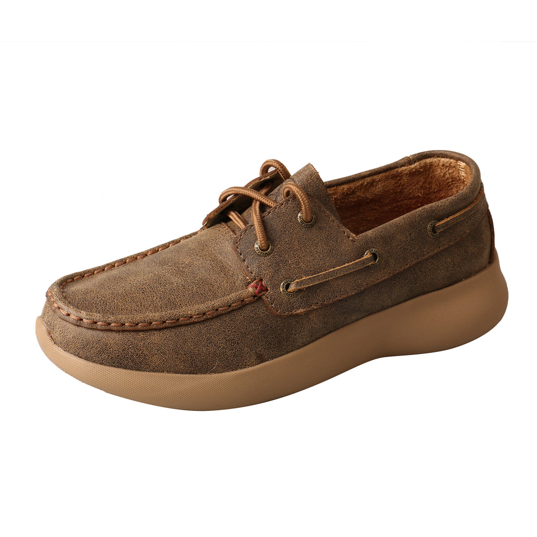 Picture of front outside of Women's Twisted X Boat Shoe EVA12R WRV0003
