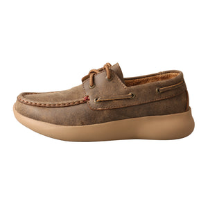 Picture of front of Women's Twisted X Boat Shoe EVA12R WRV0003
