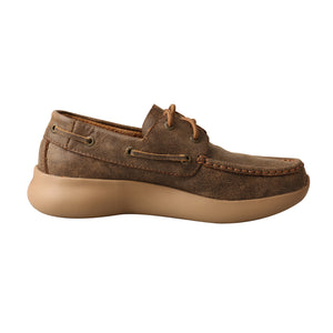 Picture of heel of Women's Twisted X Boat Shoe EVA12R WRV0003
